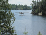 Wilderness fishing is flying into a lake and fishing where there is no one within 50 miles of you.